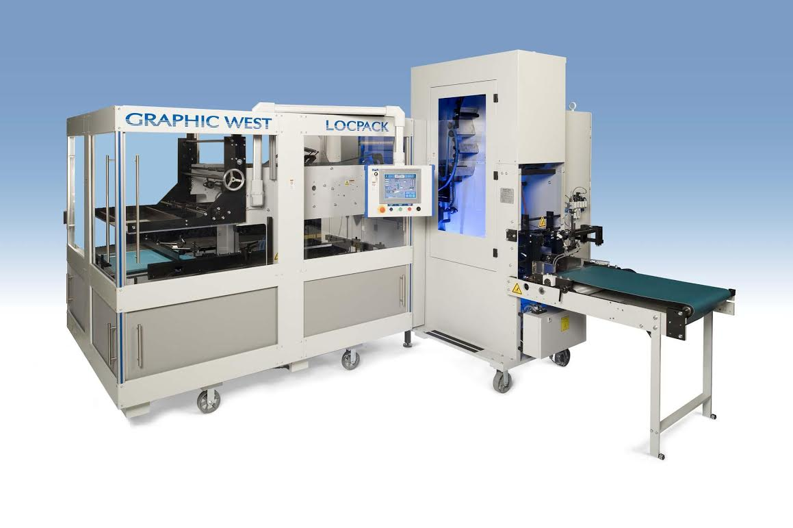 The LOCKPACK from Graphic West Packaging Machinery
